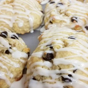 banana chocolate chip scone